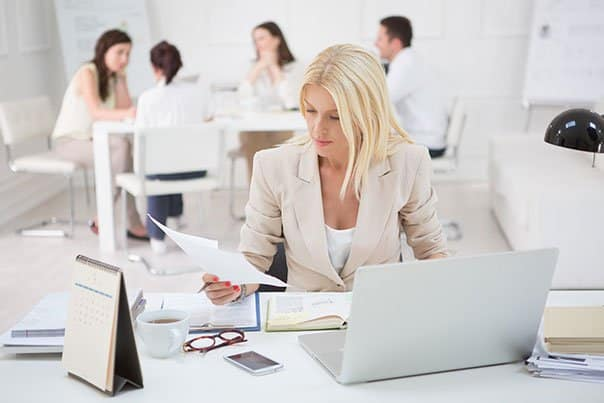 Sexual Harassment Training - Woman at Desk