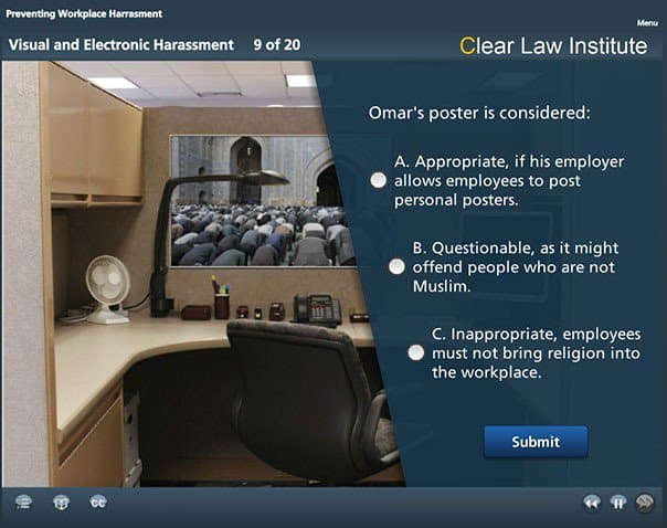 Workplace Harassment-Visual Harassment