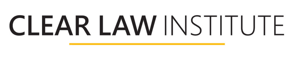 Clear Law Institute logo